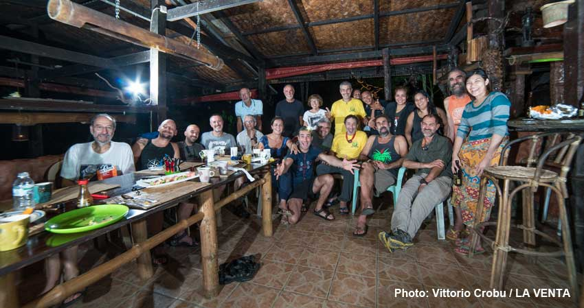 Palawan, continues the scientific mission