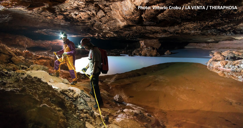 Caves and black holes, the universal sense of exploration